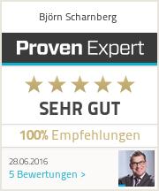 Erfahrungen & Bewertungen zu Bj�rn Scharnberg