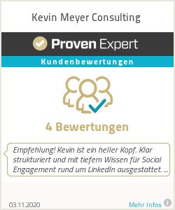 Erfahrungen & Bewertungen zu Kevin Rätsch Consulting