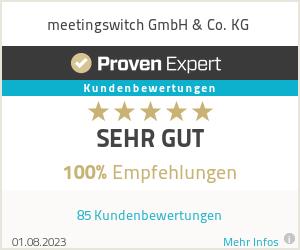 Erfahrungen & Bewertungen zu meetingswitch GmbH & Co. KG