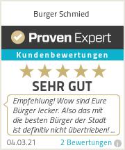Erfahrungen & Bewertungen zu Burger Schmied