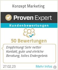 Erfahrungen & Bewertungen zu Konzept Marketing