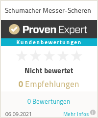 Erfahrungen & Bewertungen zu Schumacher Messer-Scheren