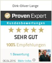 Erfahrungen & Bewertungen zu Dirk-Oliver Lange