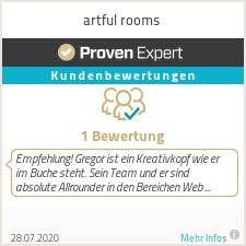Erfahrungen & Bewertungen zu artful rooms