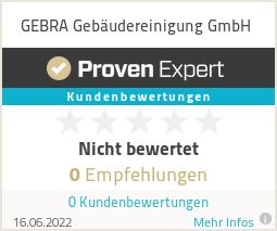Erfahrungen & Bewertungen zu GEBRA Gebäudereinigung GmbH