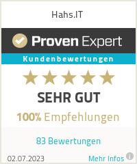 Erfahrungen & Bewertungen zu Hahs.IT