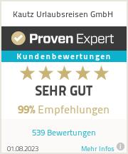 Erfahrungen & Bewertungen zu Kautz Urlaubsreisen GmbH&Co.KG