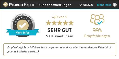 Erfahrungen & Bewertungen zu Kautz Urlaubsreisen GmbH&Co.KG anzeigen