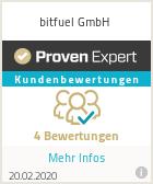 Erfahrungen & Bewertungen zu bitfuel GmbH