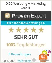 Erfahrungen & Bewertungen zu DIE2  Werbung + Marketing GmbH