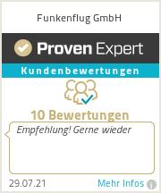 Erfahrungen & Bewertungen zu Funkenflug GmbH