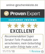 Ratings & reviews for online-geschenkkiste.de