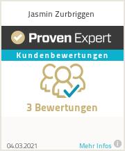 Erfahrungen & Bewertungen zu Jasmin Zurbriggen