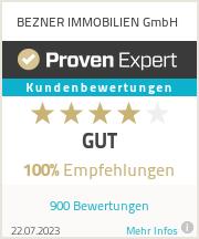 Erfahrungen & Bewertungen zu BEZNER IMMOBILIEN GmbH
