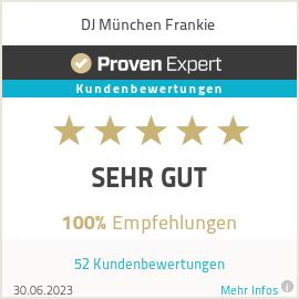 Erfahrungen & Bewertungen zu DJ München Frankie