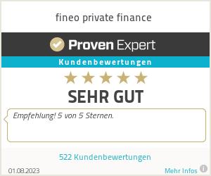 Erfahrungen & Bewertungen zu fineo private finance