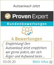 Erfahrungen & Bewertungen zu Autoankauf-Jetzt