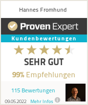 Erfahrungen & Bewertungen zu Hannes Fromhund