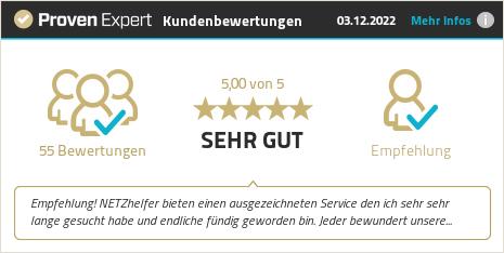 Erfahrungen & Bewertungen zu NETZhelfer GmbH anzeigen