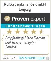 Erfahrungen & Bewertungen zu Kulturdenkmal.de GmbH Leipzig