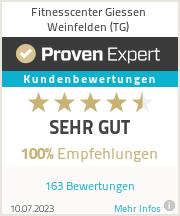 Erfahrungen & Bewertungen zu Fitnesscenter Giessen Weinfelden (TG)