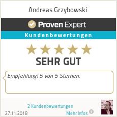 Erfahrungen & Bewertungen zu Andreas Grzybowski