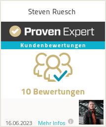 Erfahrungen & Bewertungen zu Steven Ruesch