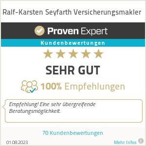 Erfahrungen & Bewertungen zu Ralf-Karsten Seyfarth Versicherungsmakler