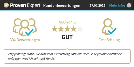 Erfahrungen & Bewertungen zu MietCamper GmbH & Co. KG anzeigen