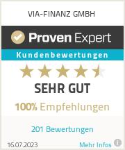 Erfahrungen & Bewertungen zu VIA-FINANZ GmbH